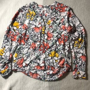 The Limited Tops - The Limited Floral Blouse